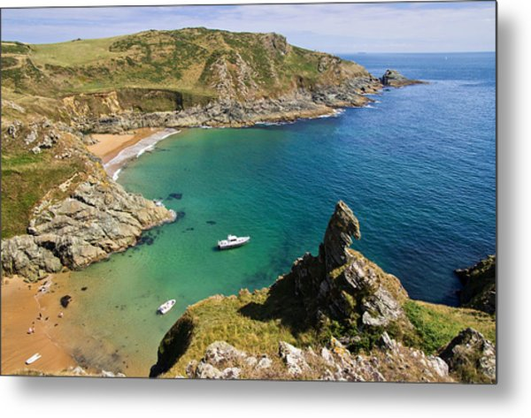 Prawle Point Metal Print