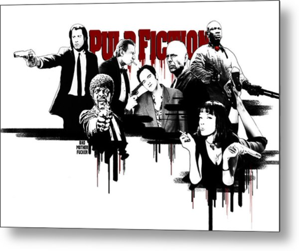 Pulp Fiction Digital Art By Movie Prints