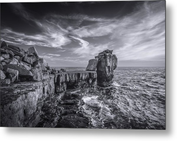 Pulpit Rock Metal Print