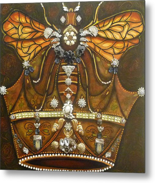 Queen Bee Chronicles Metal Print by Marie Howell Gallery