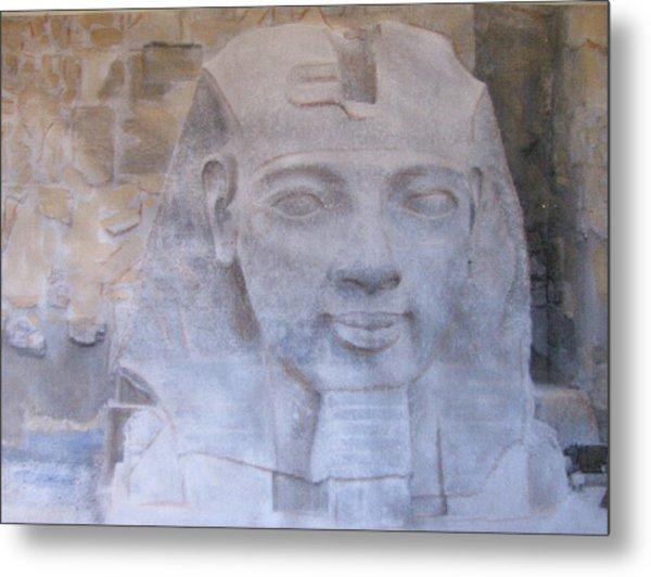 Ramses II Metal Print