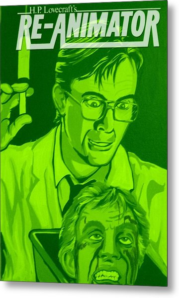 Re-animator Metal Print by Gary Niles