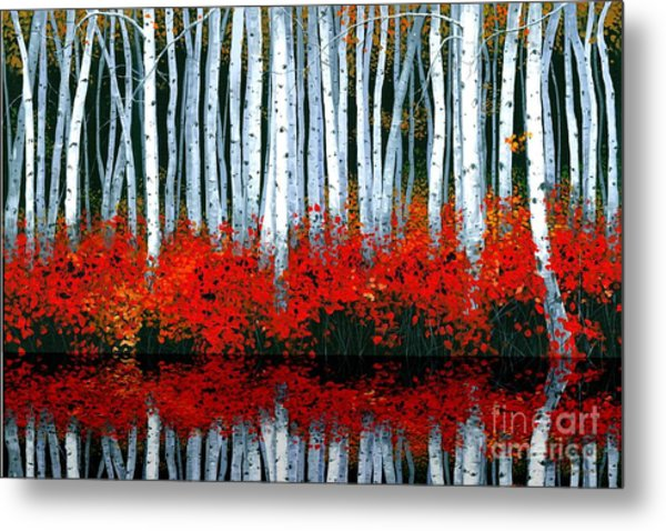 Reflections - Sold Metal Print