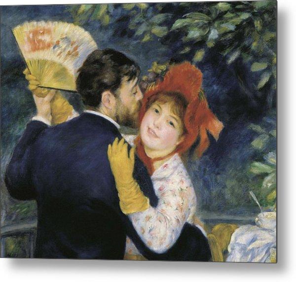 Renoir, Pierre-auguste 1841-1919. Dance Metal Print by Everett