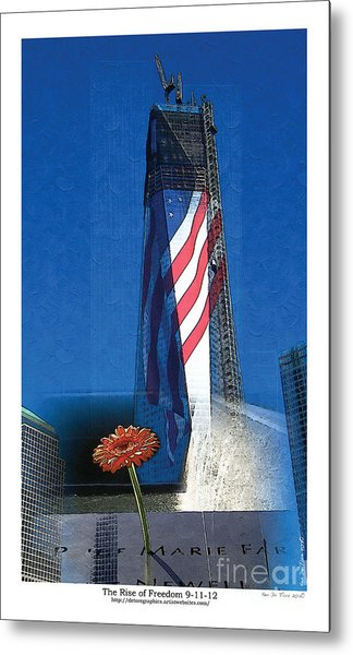 Rise Of Freedom 2012 Metal Print
