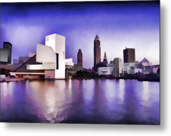 Rock And Roll Hall Of Fame - Cleveland Ohio - 3 Metal Print