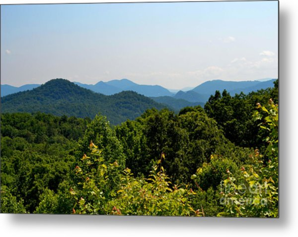 Rolling Mountains Metal Print
