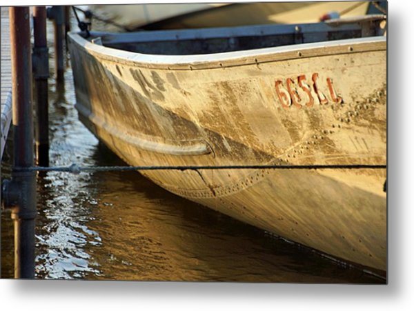 Row Boat Metal Print by Thomas Fouch