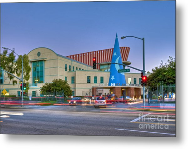 Roy E. Disney Animation Building In Burbank Ca. Metal Print