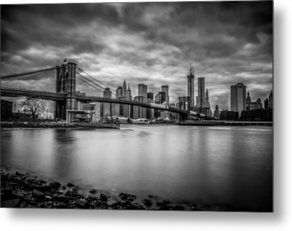 Royal Noir Metal Print