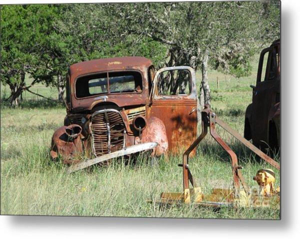 Rust In Peace No. 5 Metal Print