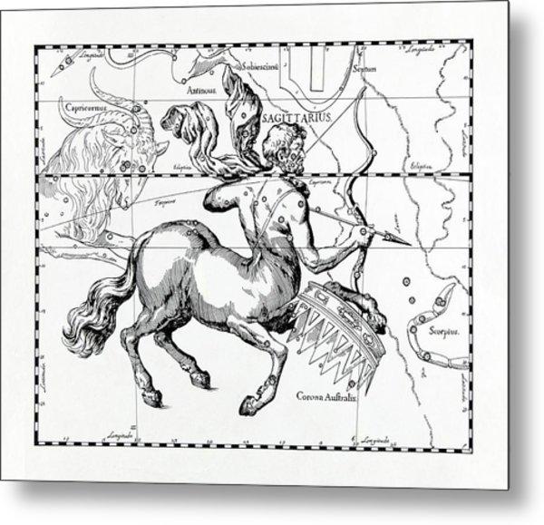 Sagittarius Metal Print