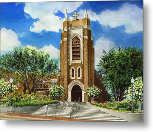 Saint Andrews Episcopal Church Bryan Texas Metal Print