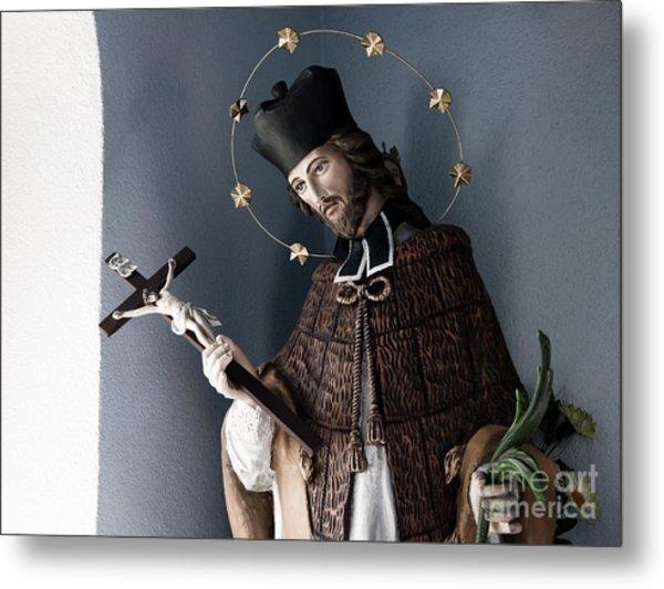 Saint John Of Nepomuk Metal Print by Agnieszka Kubica
