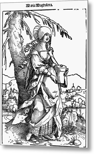 Saint Mary Magdalene Metal Print by Granger