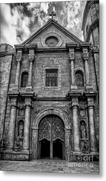San Agustin Church  Metal Print