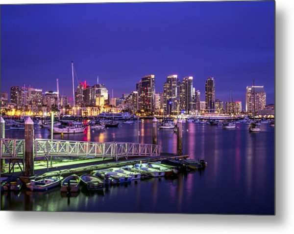 This Is San Diego Harbor Metal Print