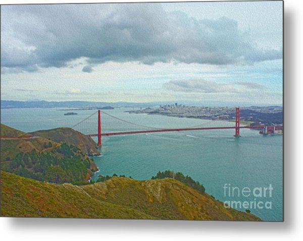 San Francisco Metal Print by Nur Roy
