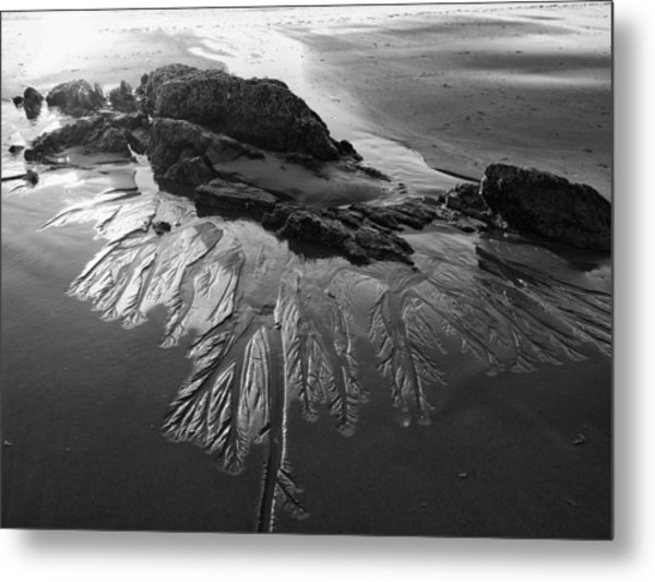 Sand Traces Metal Print