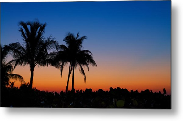 Sanibel Island Florida Sunset Metal Print