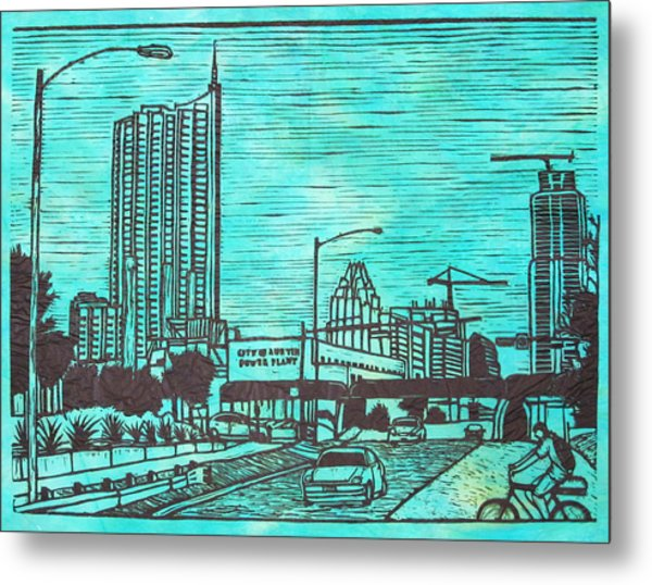 Seaholm Metal Print by William Cauthern