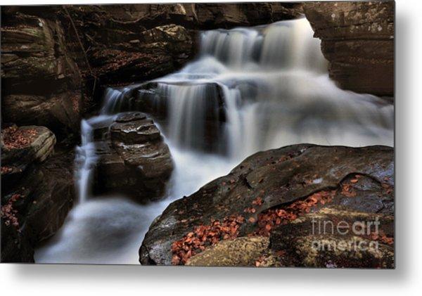 Secret Waterfall Metal Print