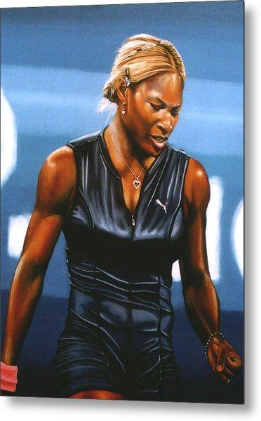Serena Williams Metal Print