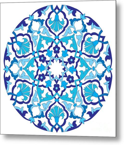 Series Of Patterns Designed By Taking Metal Print