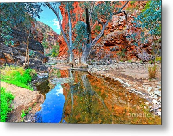 Serpentine Gorge Central Australia Metal Print