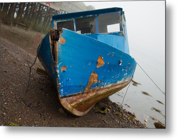 Ship Wrecked  Metal Print