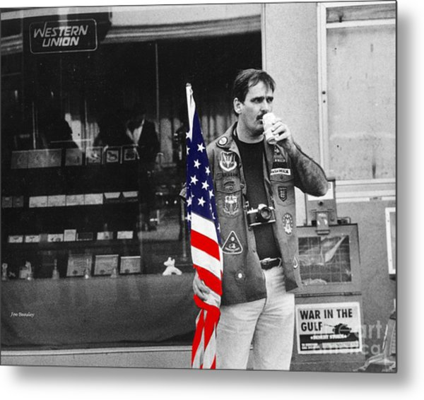 Showing Support Metal Print by   Joe Beasley