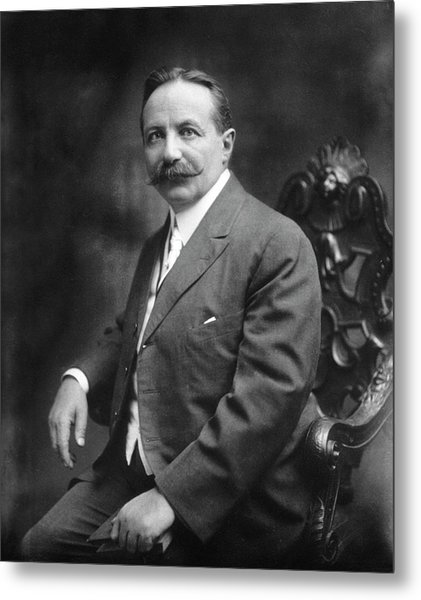 Sigard Knopf Metal Print by National Library Of Medicine