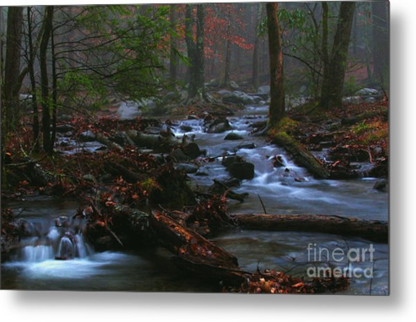 Smoky Mountain Color Metal Print