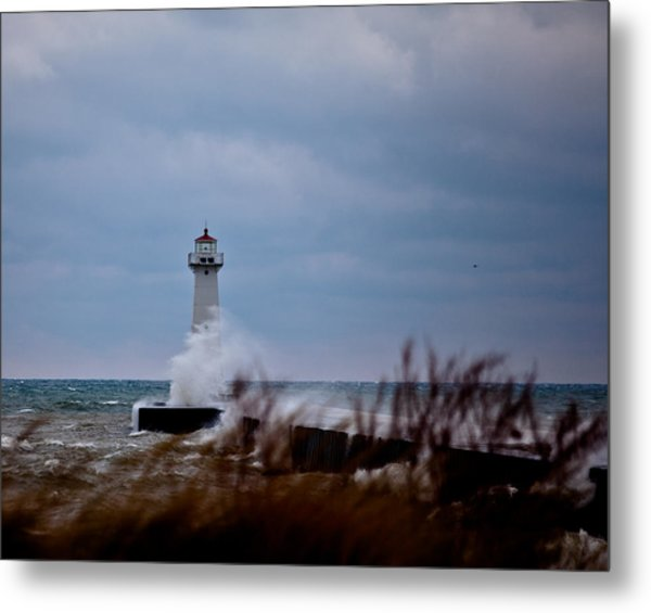 Sodus Point Lighthouse Metal Print