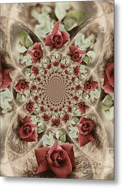 Soft Beauty Metal Print