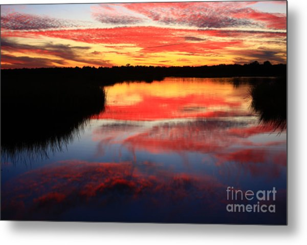 South Ponte Vedra Coast Metal Print