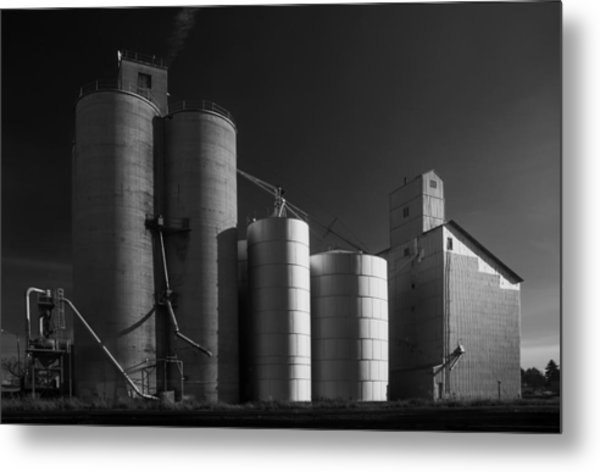 Spangle Grain Elevator Metal Print