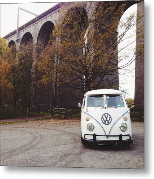Splitty By The Viaducts Metal Print