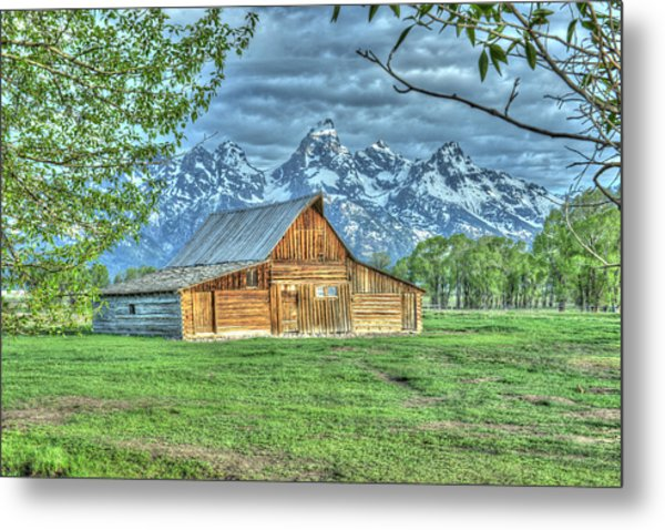 Metal Print featuring the photograph Spring Barn by David Armstrong