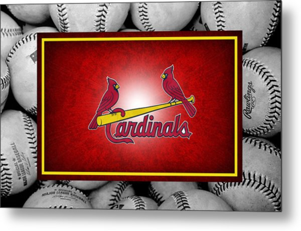 St Louis Cardinals Metal Print