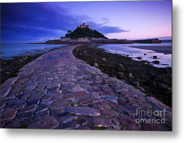 St Michael's Mount Metal Print