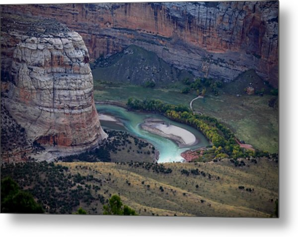 Steamboat Rock Metal Print