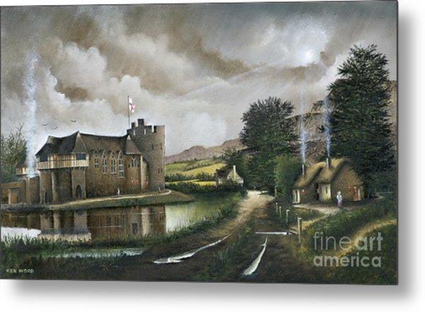 Stokesay Castle Metal Print