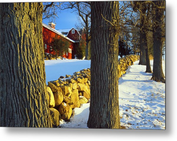 Stonewall Farm Metal Print