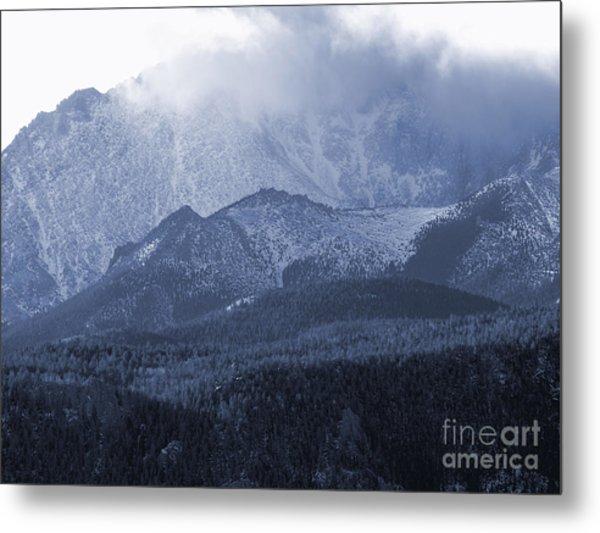 Stormy Peak Metal Print