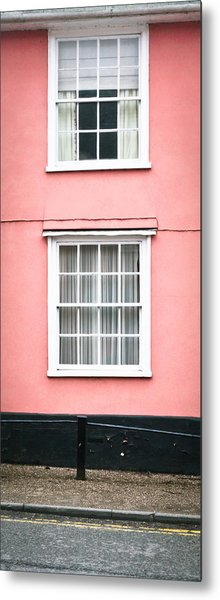 Suffolk Pink Metal Print