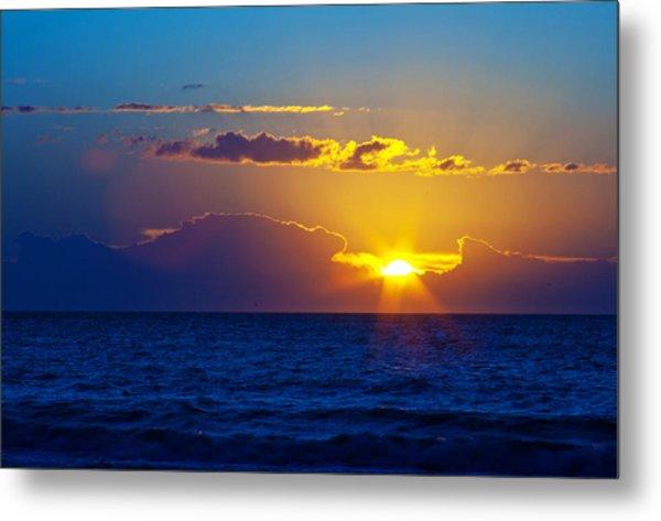 Sunrise At The Beach II Metal Print