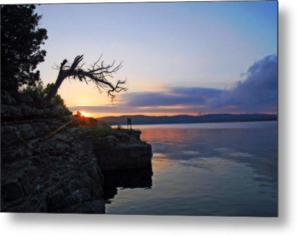 Sunrise Over Table Rock Lake Metal Print