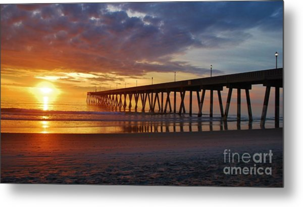 Sunrise Panorama  16x9 Ratio Metal Print