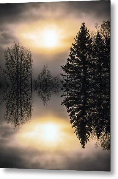 Sunrise-sundown Metal Print